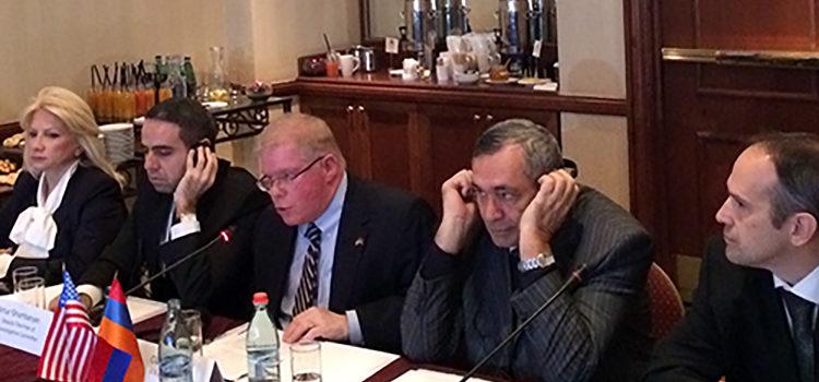 ԱՄՆ փորձագետ-ոստիկաններն այցելում են հայ գործընկերներին