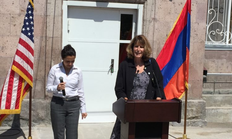 U.S. Embassy Opens New Regional Lab in Gyumri to Counter Biological Threats