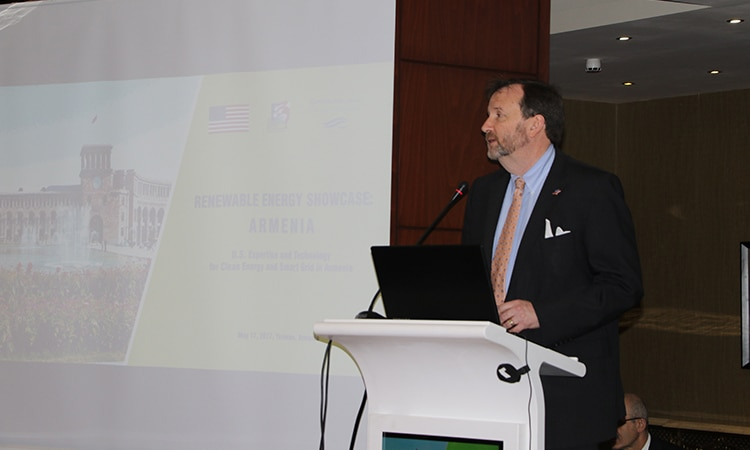 U.S. Embassy brings U.S. and Armenian companies together to develop renewable energy