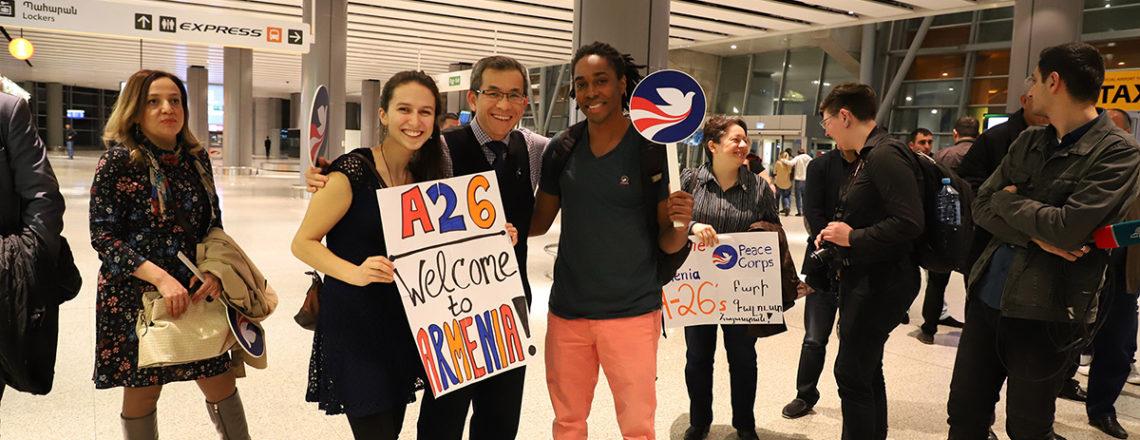 ԱՄՆ Խաղաղության կորպուսի 26-րդ խումբը ժամանեց Հայաստան