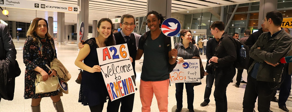 The 26th group of Peace Corps Volunteers arrived to Armenia