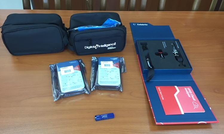 U.S. Embassy donates evidence examination tools to National Bureau of Expertises