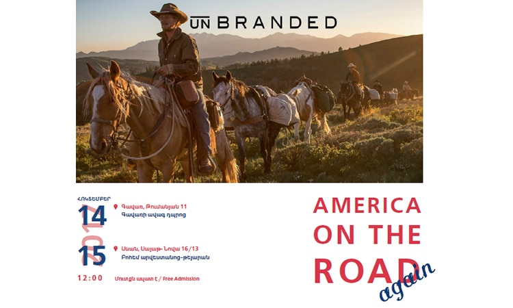 America on the Road Again Poster