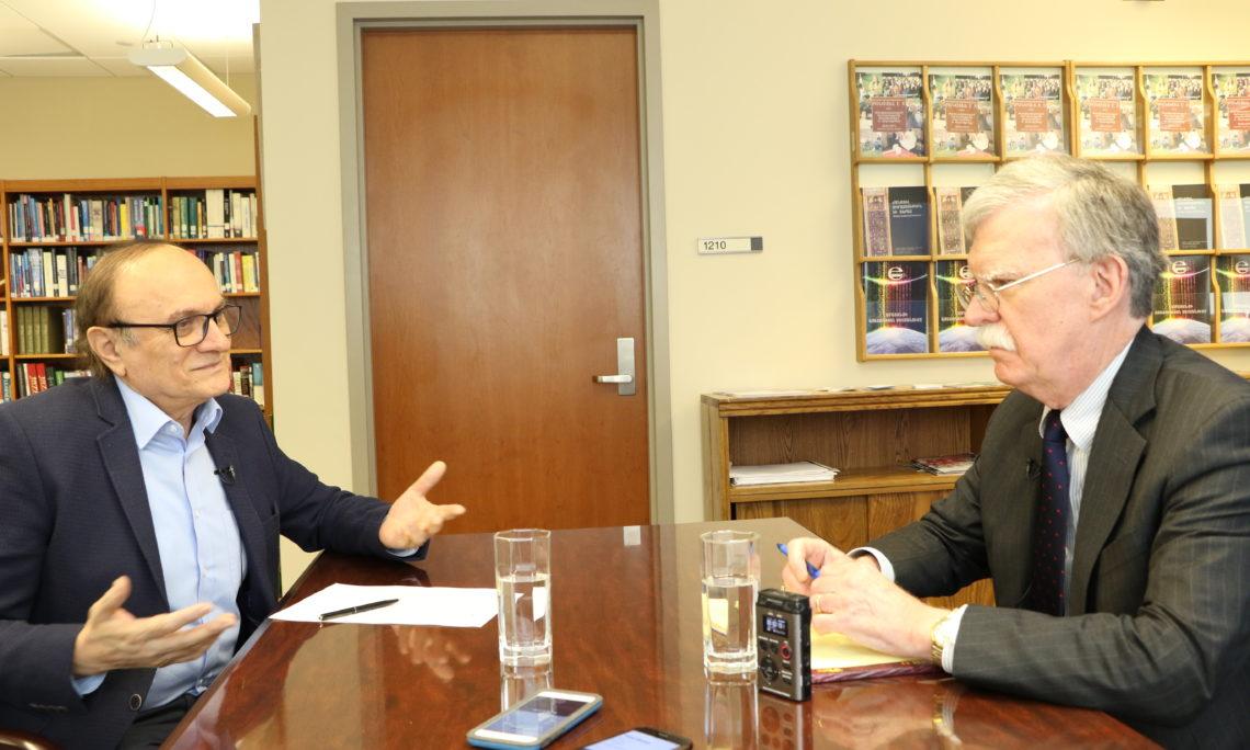 John Bolton Interview with Radio Free Europe/Radio Liberty