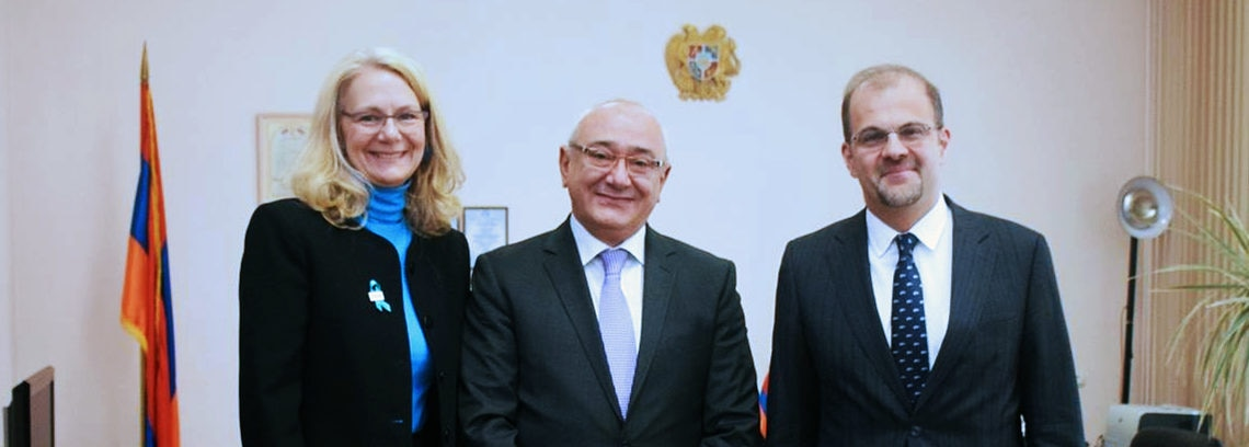U.S. Embassy Officials Discuss Elections Assistance with Armenia's Central Electoral Commi