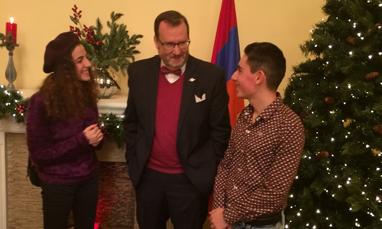 U.S. Embassy Concert Showcases 25 Years of U.S.-Armenian Friendship