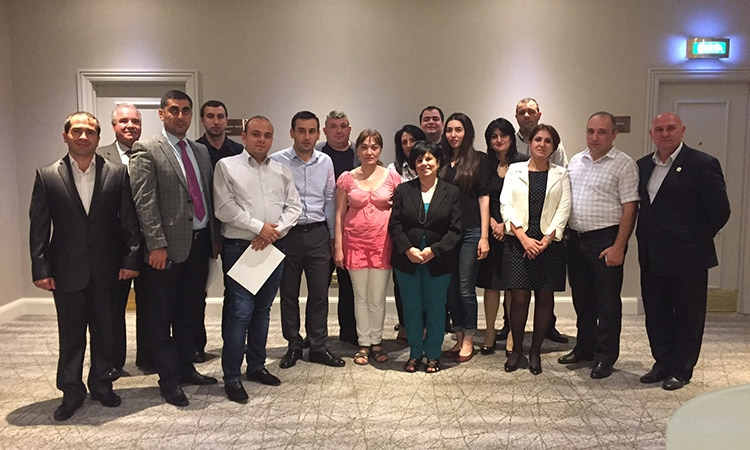INL Anti-Corruption Training for Armenian Ministry of Justice and Prison Staff: